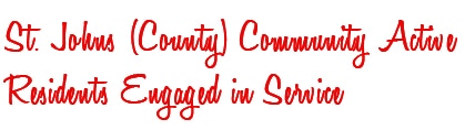 St. Johns (County) Community Engaged in Active Service